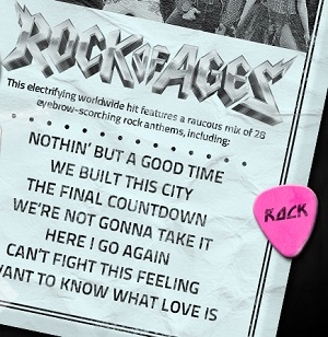 rock of ages song list