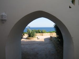 archway for a sharm hotel