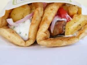 greek souvlak