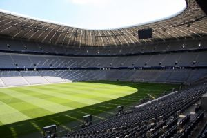 stadium Allianz Arena in Munic