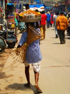 street hawkers in new delhi