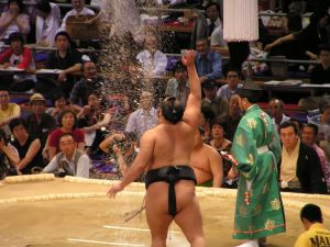 sumo match in Toky