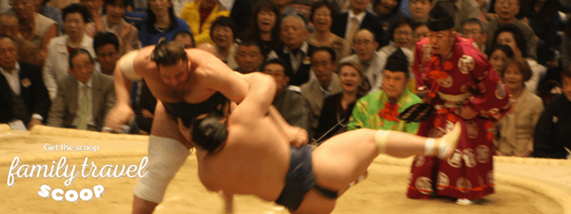 sumo wrestling in japan for kids