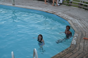 swimming pool at wilderness tours