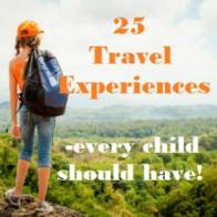 travel experiences for kids