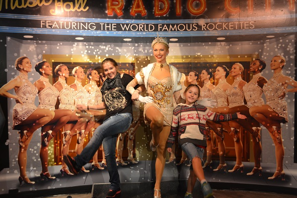 kids at madam tussauds