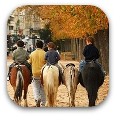 horse riding in france