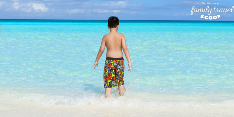 Boy at the beach in Varadero