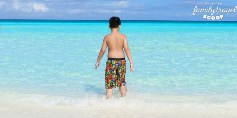 Boy at the beach in Varadero