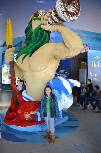 lego at sydney aquariu