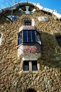 fairytale sype building in Barcelona