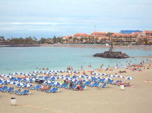 seaside beach in Tenerif