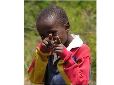 local boy in Nairobi, Kenya