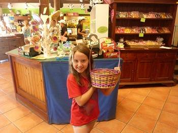 girl at the Candy Cow in Cowerinup