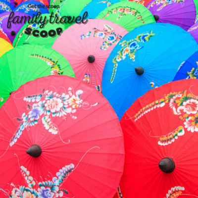 umbrellas in chiang mai
