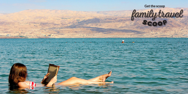 girl in the dead sea