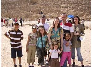 Egypt family tri