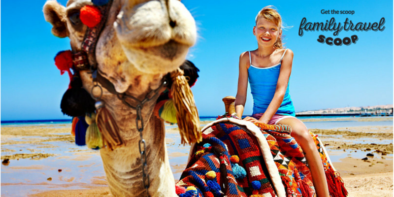 girl on a camel