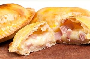 ham and cheese empanada