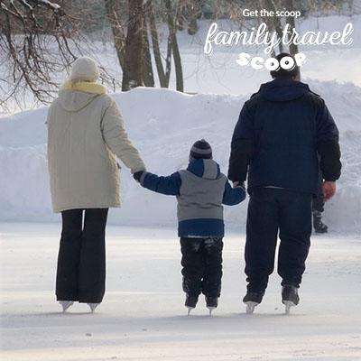 family iceskating