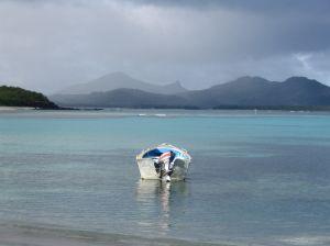 boat in Fiji
