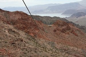 ziplining near lake mead
