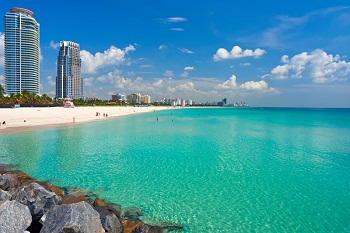 florida beach view