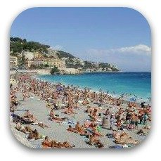 south of france beach