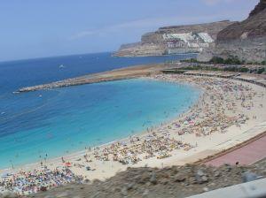 beach at gran canaria