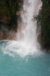 water fall in costa rica