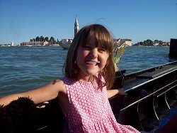 girl on a gondola