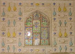 a window in Jaipur