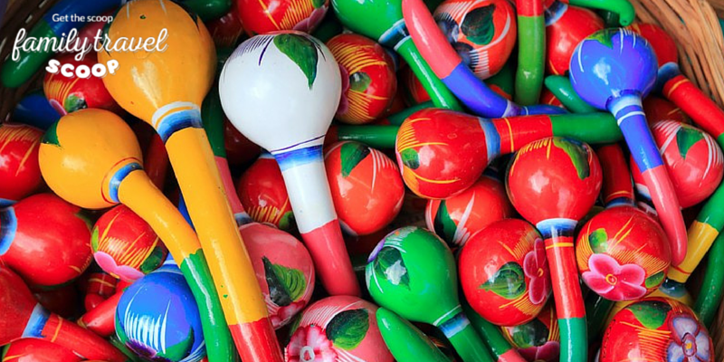 colourful maracas