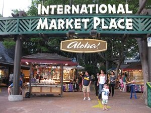international market place in hawai