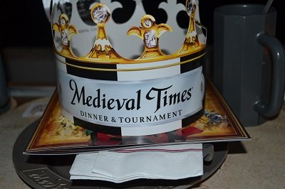 hat at medieval times