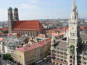 City centre Munich