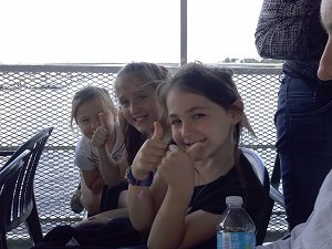 kids on the boat cruise