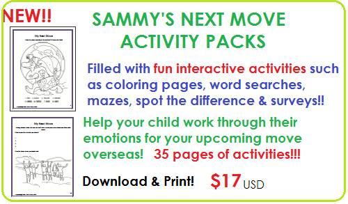 sammy moving pack