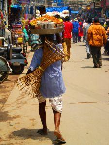 street hawkers in new delhi