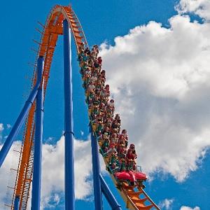 rollar coaster at canadas wonderland