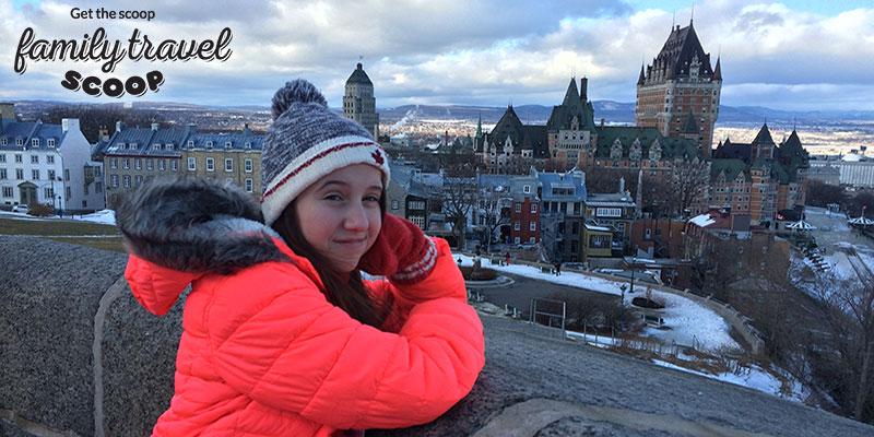 Birds-eye-view of Quebec City