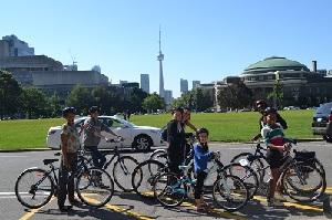 bike tour toronto