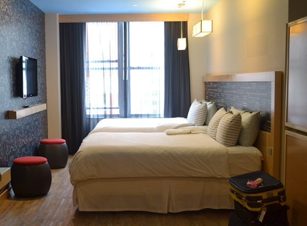 tryp hotel room